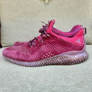Adidas Alpha Bounce Suede Running Shoe.
